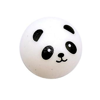 Squishy Panda Bun Stress Reliever Ball Slow Rising Decompression Keychain Kids