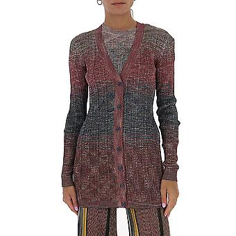 Missoni Mdm00289bk00mnl401b Women's Multicolor Viscose Cardigan