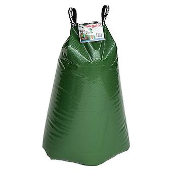 2PCS 92x88CM 75L PVC Watering Bag for Trees Green
