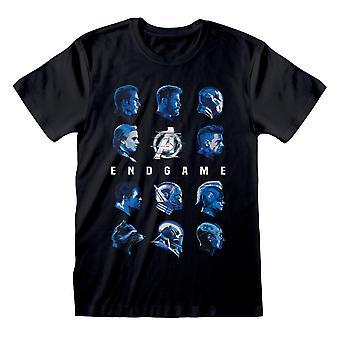 Avengers Endgame Unisex Adult Faces T-Shirt