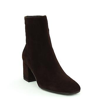 Aquatalia | Charlee Dress Suede Block Heel Boots