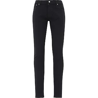 Nudie Jeans 112569blk Heren's Black Cotton Jeans