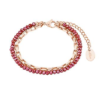 s.Oliver Jewel Dames armband stainless steel IP Rosé 2028480