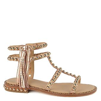 Ash Footwear Power Leather Sandals Rame