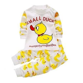 3-24m Baby Sleepwear Set Kinder jungen Mädchen Tier Pijamas Baumwolle Nachtwäsche