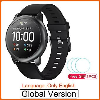 Solar Smart Watch Sport Fashion Bracelet Heart Rate Sleep Monitor Fitness Tracker For Ios Android
