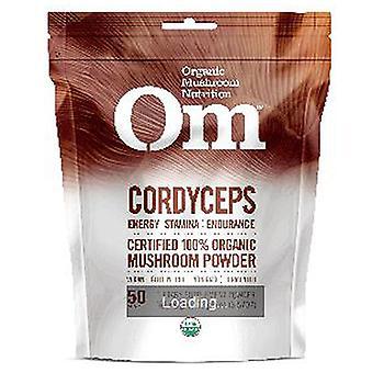 Organic Mushroom Nutrition Organic Cordyceps Mushroom Powder, 3.57 Oz