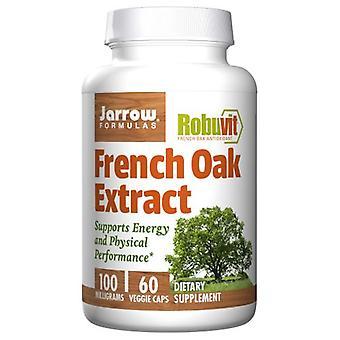 """Jarrow פורמולות תמצית אלון צרפתי, 100 מ""""ג, 60 כמוסות צמח"""