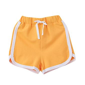Shorts For Girls Boys Elastic Sports Short Cotton Pants