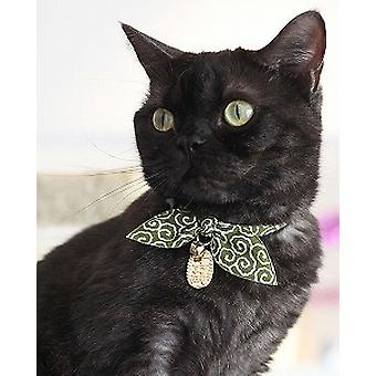 NECOICHI Ninja Cats Collar (Green)