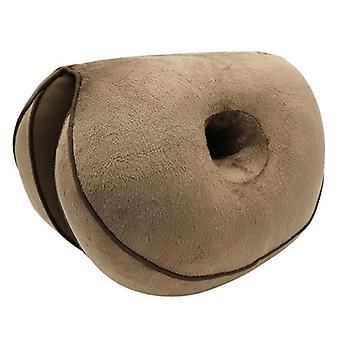 Dobbel komfort pute- hip form folding pute passer bilsete, hjem / kontor stol