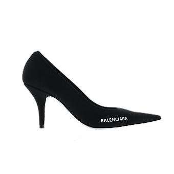 Balenciaga Knf.Knit Pump M Black 628602W18021090 shoe