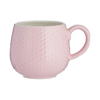 Mason Cash Embossed Honeycombe Mug Pink 2002.105
