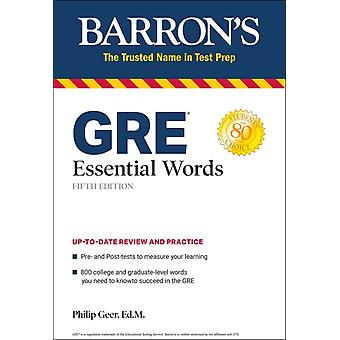 GRE Essential Words-sana: Geer & Philip
