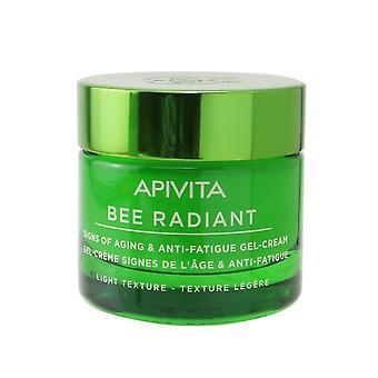 Bi strålende tegn på aldring & anti træthed gel creme lys tekstur 256683 50ml/1.69oz