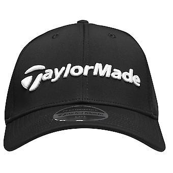 TaylorMade Mens Cage Golf Cap Curved Peak Ventilation Holes Sombrero