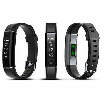 Aquarius AQ113 Fitness Tracker With Heart Rate Monitor- Black