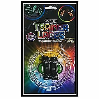 Light-Up LED Soft Nylon Drie Modi Trainer Schoenveters, Diverse kleuren