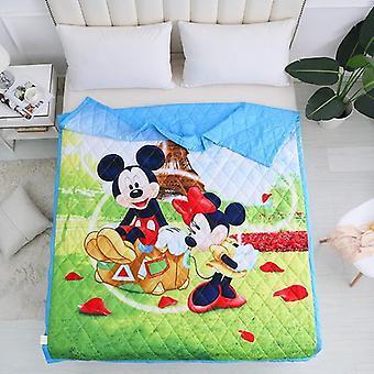 Disney Cartoon Moana Maui Myth Superman Sofia Blanket Bedding Cover For Baby