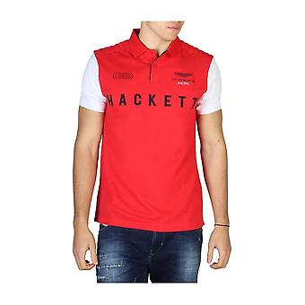 Hackett - Clothing - Polo - HM562678_2AH - Men - red,white - XL