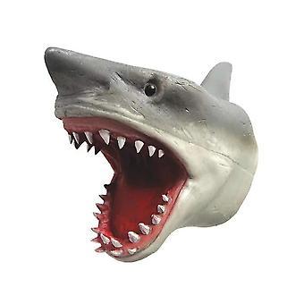 Pupazzo a mano di squalo