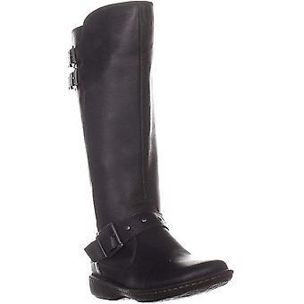 B.O.C Womens Oliver Deri Kapalı Ayak Diz Yüksek Moda Boots