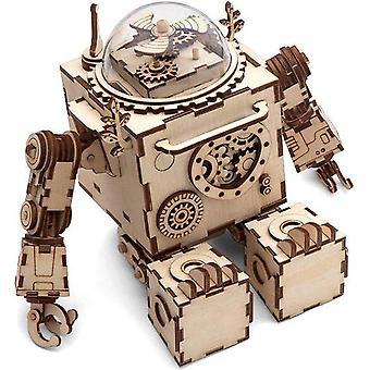 Orpheus Robotime Steampunk Puzzle Model Kit