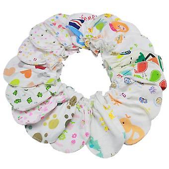 Vauvan lapaset käsineet kehon naarmuuntumisen estämiseksi /, Talvi lämpimät vauvat