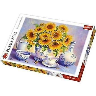 Trefl sunflowers 500 pieces puzzle premium quality