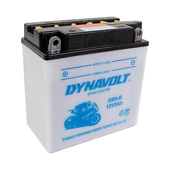 Dynavolt 12N94B1 Conventional Dry Charge Battery With Acid Pack