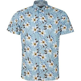 Ted Baker Baboo Orchid Print Short Sleeved Shirt