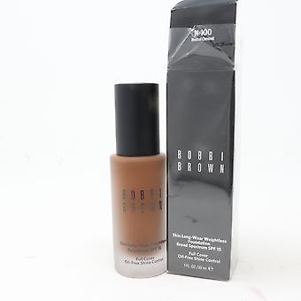Bobbi Brown Skin Long-Wear Weightless Foundation Spf 15 1oz/30ml Nouveau avec boîte