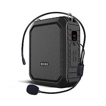 Haut-parleur audio Bluetooth microphone bluetooth portable d'amplificateur vocal