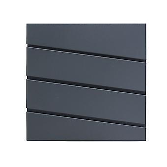 Briefkasten Modern Anthrazit - 37x37x10 cm
