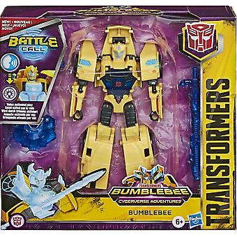 Transformers Cyberverse Battle Call Trooper Bumblebee Figure