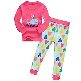 Lasten sleepwear vaatteet setit