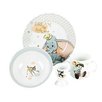 Disney Magical Beginnings Set Bowl, Plate, Mug Egg Cup Dumbo