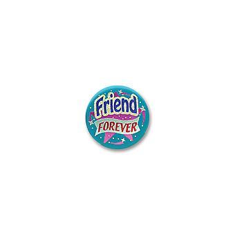 Freund für immer Satin Button (Pack von 6)