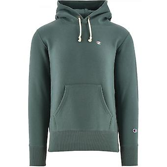 Champion Petrol Reverse Weave Kapuzen Sweatshirt