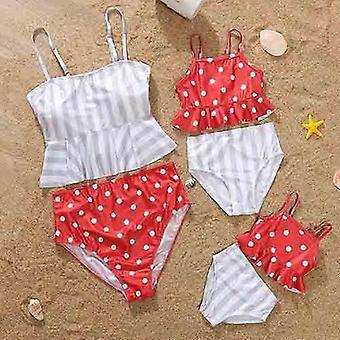 Moda Mama Ubrania, Rodzina Strój kąpielowy Bikini Zestaw