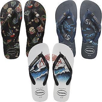Havaianas masculino top Tribo casual summer beach sandalia thong flip flops