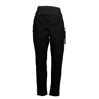 DG2 af Diane Gilman Women's Jeans Comfort Waist Skinny Jegging Black 733923