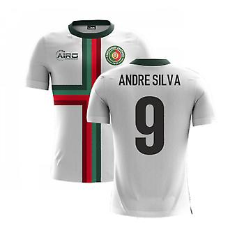 2020-2021 Portugalia Airo Concept Away Shirt (Andre Silva 9) - Dzieci