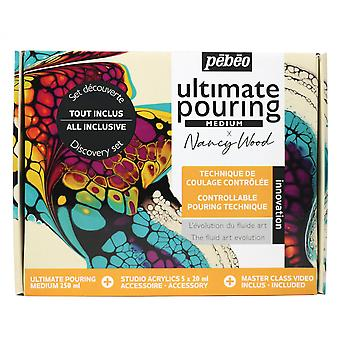 Pebeo x Nancy Wood Ultimate Pouring Medium Discovery Set