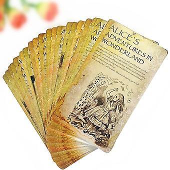 Cartoon Alice's Adventures In Wonderland Postcard Set
