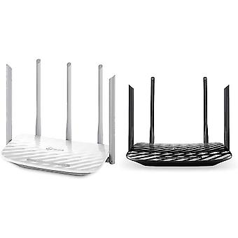 FengChun Archer C60 Dualband WLAN Router (867Mbit/s (5GHz) + 450Mbit/s) weiß Archer C6 Dualband