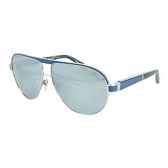 ZILLI Solglasögon Titanacetat Läder Polariserat Frankrike Handgjord ZI 65031 C03