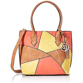 Remonte Q0605, Women's Bag, Multicolored (Sun/Walnut/Orange), 13x25x28 cm (B x H x T)