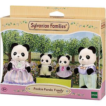Sylvanian Familier Pookie Panda Familie 5529