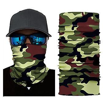 3D clown digitale afdrukken buiten sport zonwering sjaal sneldrogend masker